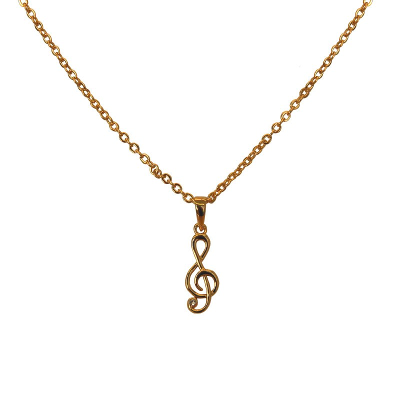 Clef Necklace